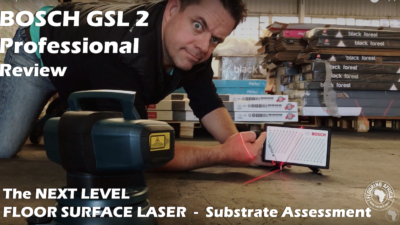 Vlog S2,E14 | Bosch GSL 2 Professional Laser Level | Product Review