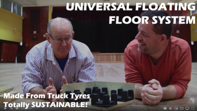 Vlog S2, E18 | Acoustic Cradle Review | Revolutionary Floating Floor Sub-Structure System