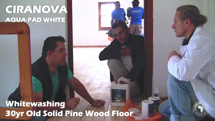 Vlog S2,E20 | Whitewashing A Solid Pine Floor | Ciranova Aquapad